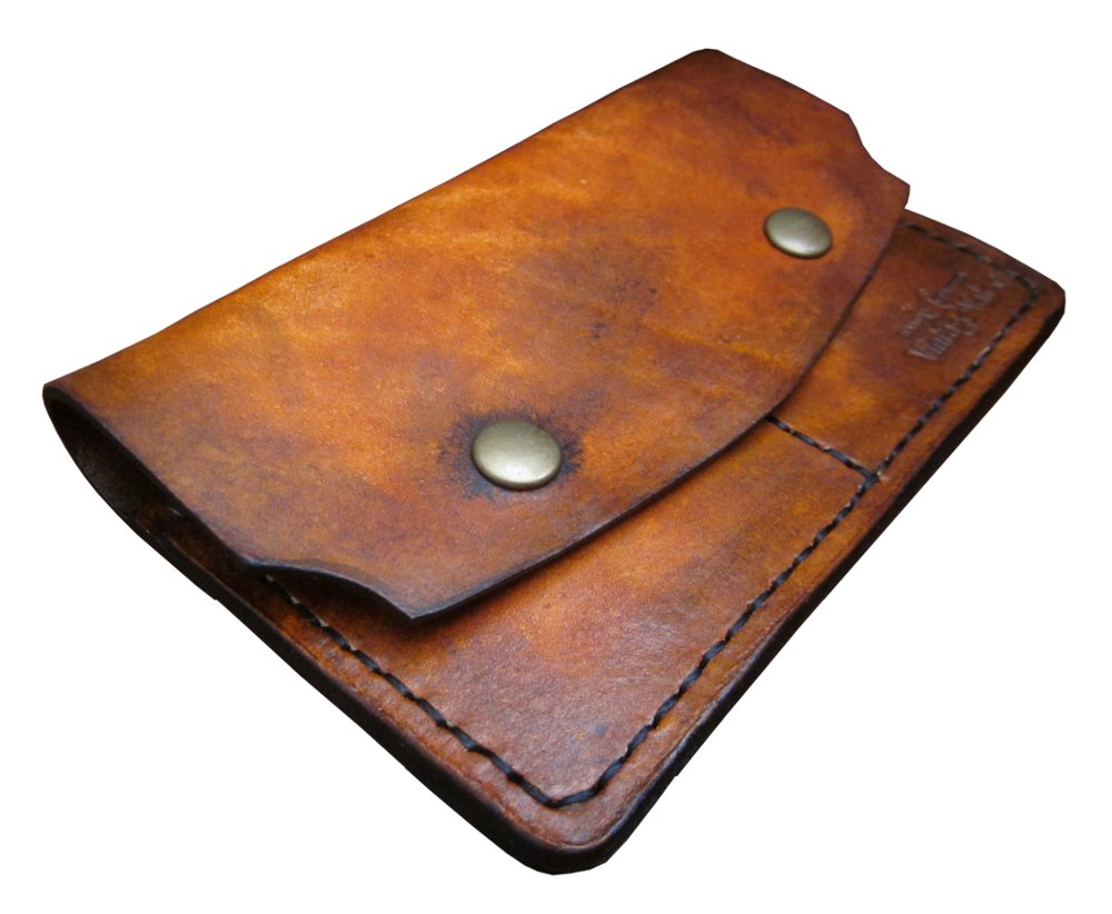 Vintage Valor Leather Goods: Quality Handmade 1865 DOUBLE Wallet