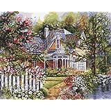 Plaid Peinture par numéro Kit jardin de 16 « X 20 » de l'ère victorienne