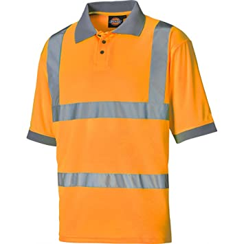 Dickies de seguridad de Polo Camiseta, naranja, SA22075 OR XXL ...