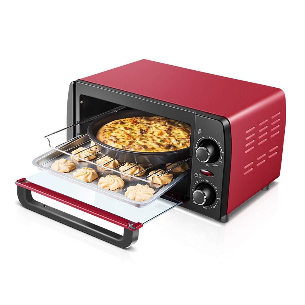 Peaceip Mini horno 12L con ajuste de temperatura 0-230℃ y ...