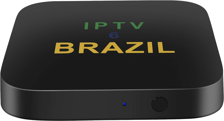 Amazon.com: IPTV6 Brazil 2020 2nd Generation Brazil iptv Android tv Box  Brasil iptv 5 Updated Brazilian Box Canal Brazil Box IPTV8 4k More Then 300  Live Brazilian TV Channels, Movies Show: Computers