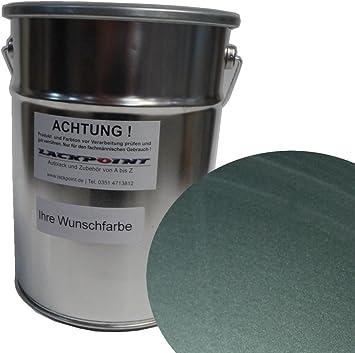 Lackpoint 1 Liter Spritzfertigen Wasserbasislack Für Vw Ly7l Grau Metallic Autolack Auto