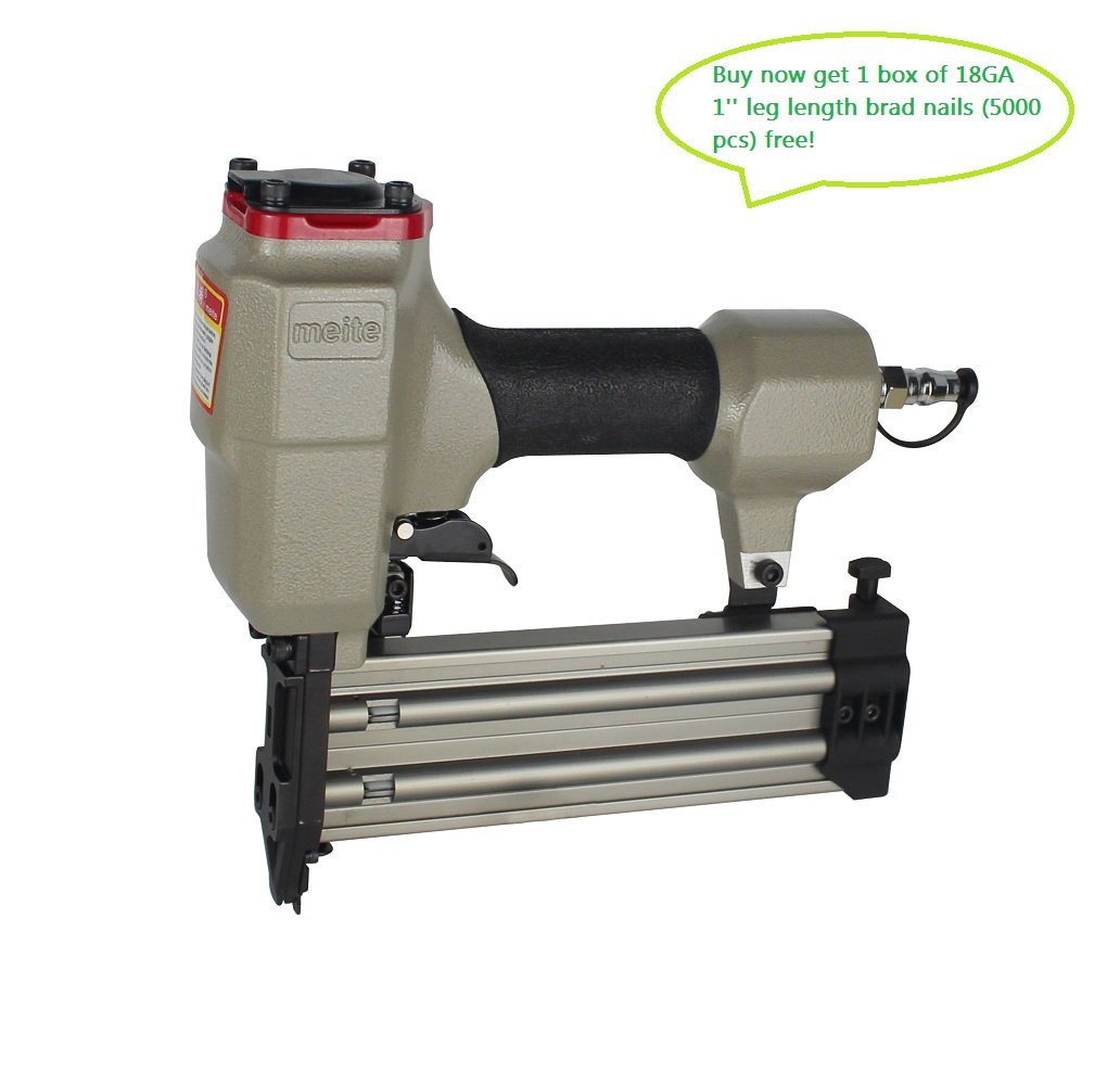 meite 18 Gauge Finish Nailer/ brad nailer with Trigger Safety (3/4'-2'#F50G) Guangdong meite Mechanical CO. LTD