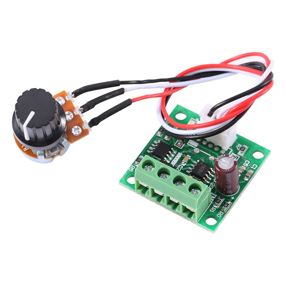 Low Voltage DC 1.8V to 15V 2A Mini PWM Motor Speed Controller Regulator Control Module