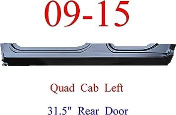 "For 31.5/"" Rear Door 09 15 Ram LEFT Outer Rocker Panel Quad Cab Ram Truck"