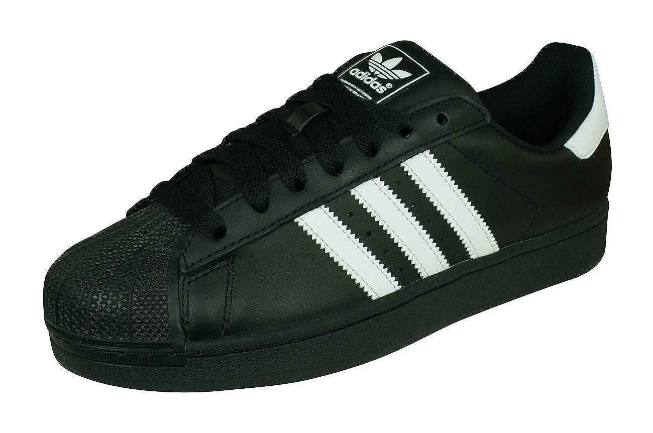 adidas Originals Superstar II Mens SneakersShoes Black 12.5