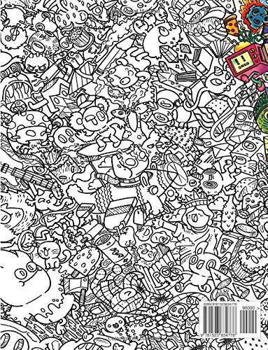 Amazon Doodle Chaos Zifflins Coloring Book Volume 3 9781523834778 Zifflin Irvin Ranada Books