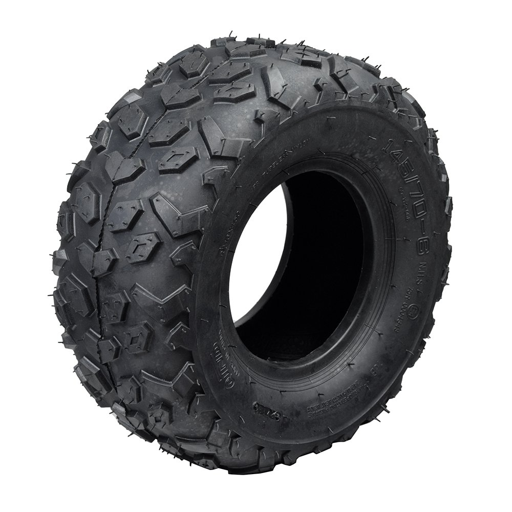 AlveyTech 145/70-6 Tire for Baja Blitz, Dirt Bug, Doodle Bug, Racer Mini Bikes by AlveyTech