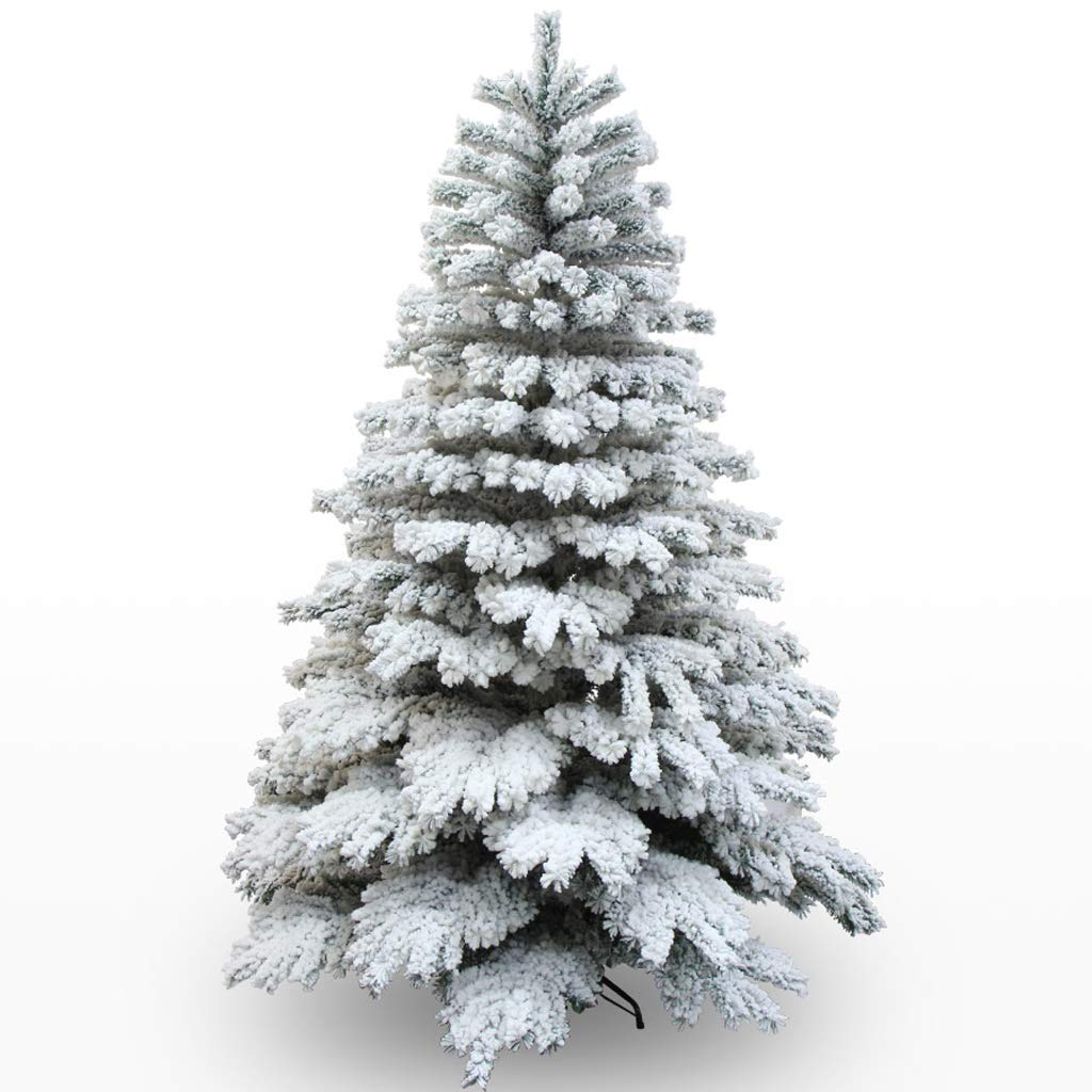 XF Christmas Tree- 180cm,210cm Pine Needle Tree Encryption Type Christmas Ornament Decoration 180cm/210cm Christmas Snow Tree // (Size : 2.1M(Height))