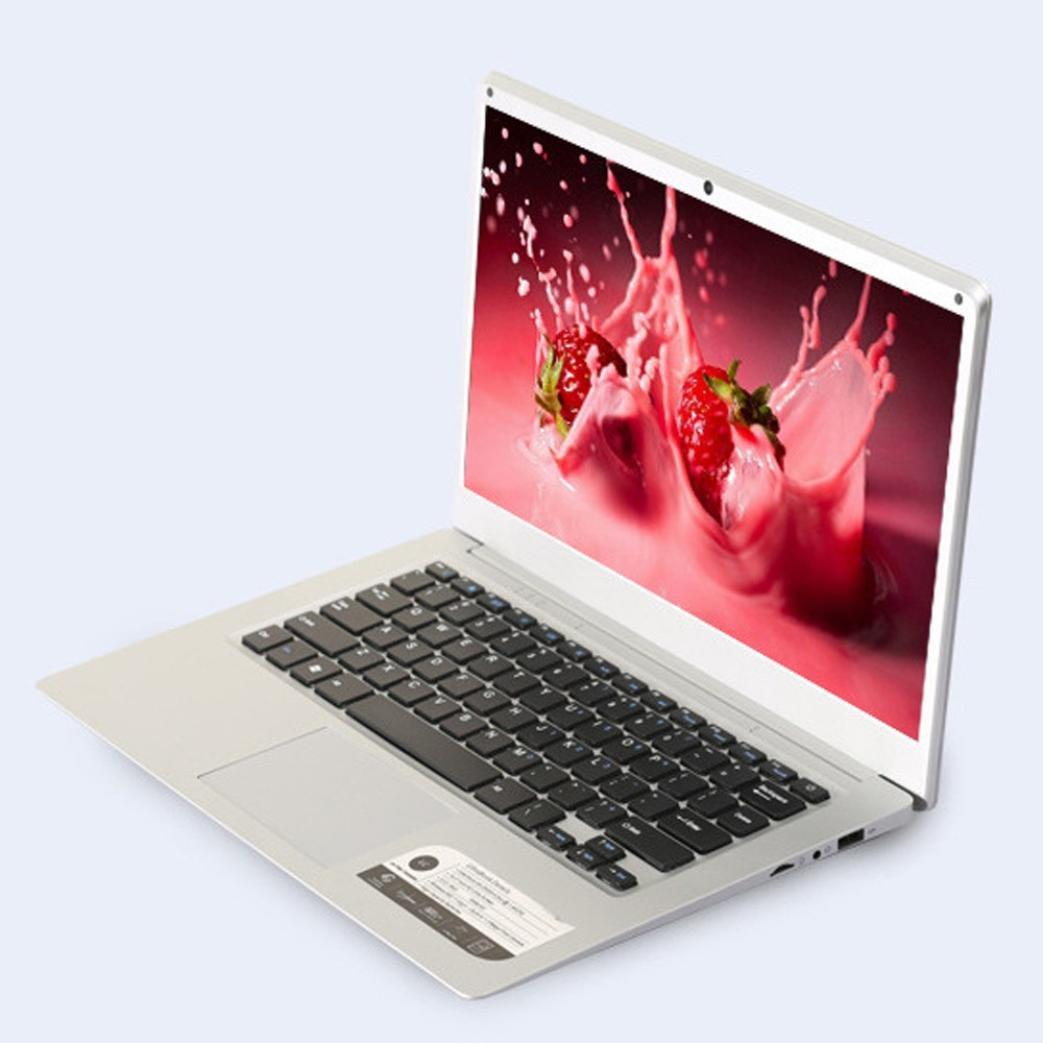 Funda ultra fina Quad-Core Laptop Ordenador Portatil 14 de la pantalla pantalla 1366 * 768pixeles 4 G + 64 G Wind ows10, negro, large: Amazon.es: Deportes ...