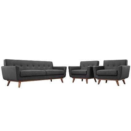 Amazon.com: Moderno y Contemporáneo sillones y sofá Conjunto ...