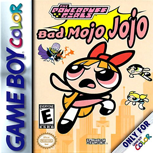 The Powerpuff Girls: Bad Mojo Jojo (Best Gameboy And Gameboy Color Games)