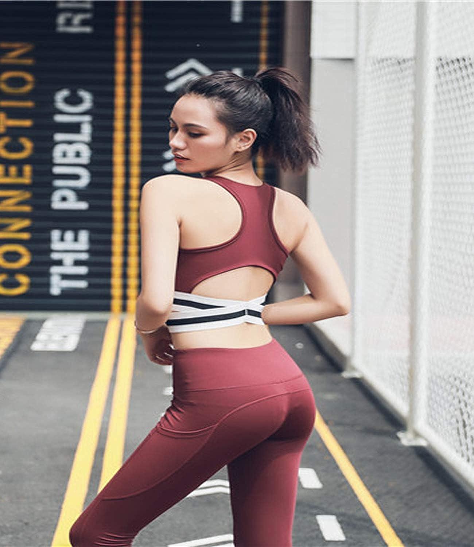 OUNA - Sujetador Deportivo - para Mujer Rojo L: Amazon.es: Ropa y ...