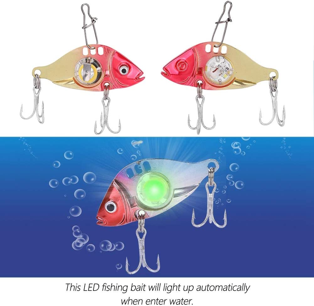 señuelos de pesca con luz