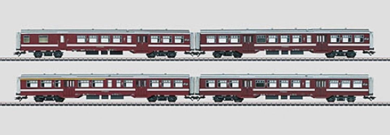 Märklin 43543 - Nahverkehrswagen-Set M2 NS