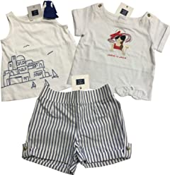 e8ceeda7f6d6 Janie and Jack 3 Piece Baby Girl Summer Outfit July 4th Size 12-18 Months