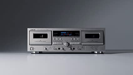 Amazon com: TEAC Double Cassette Deck W-1200 (SILVER)【Japan