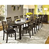A-America Bristol Point Rectangular Extension Dining Table - Warm