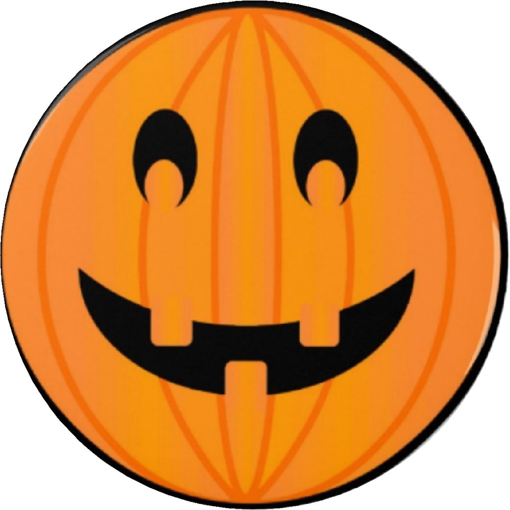 Amazon.com: Calabaza de Halloween Cara Sonriente 2.25 ...