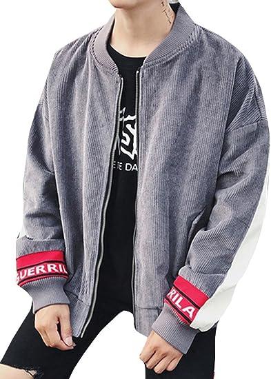 (ネルロッソ) NERLosso ブルゾン メンズ コーデュロイ ジャンパー スタジャン 大きいサイズ ミリタリージャケット ライダースジャケット 正規品 cml24126