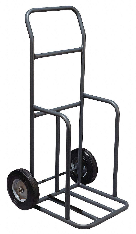 Portable Cone Cart, Black, 45'' x 16'' x 14'', 16 lb, Steel