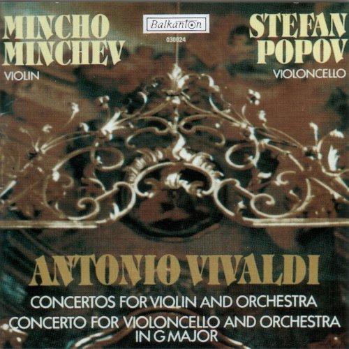 Antonio Vivaldi - Concertos for violin and orchestra / Concerto for violoncello and orchestra in G Major