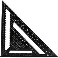 30,5 cm (12 inch), aluminiumlegering, driehoek, vierkante hoekmeter, hoge precisie, meetgereedschap voor ingenieurs…