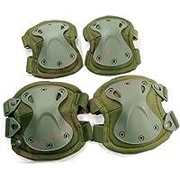 4-in-1de trabajo anti impacto Militar Táctico rodilleras