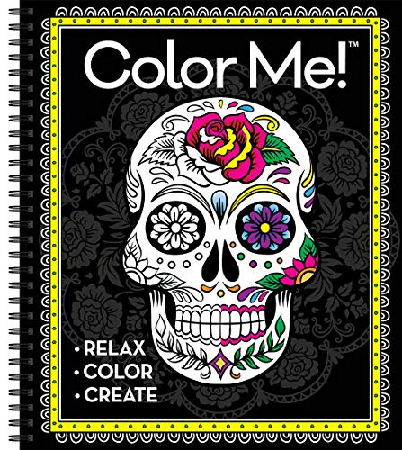 (Color Me! Adult Coloring Book (Skull)