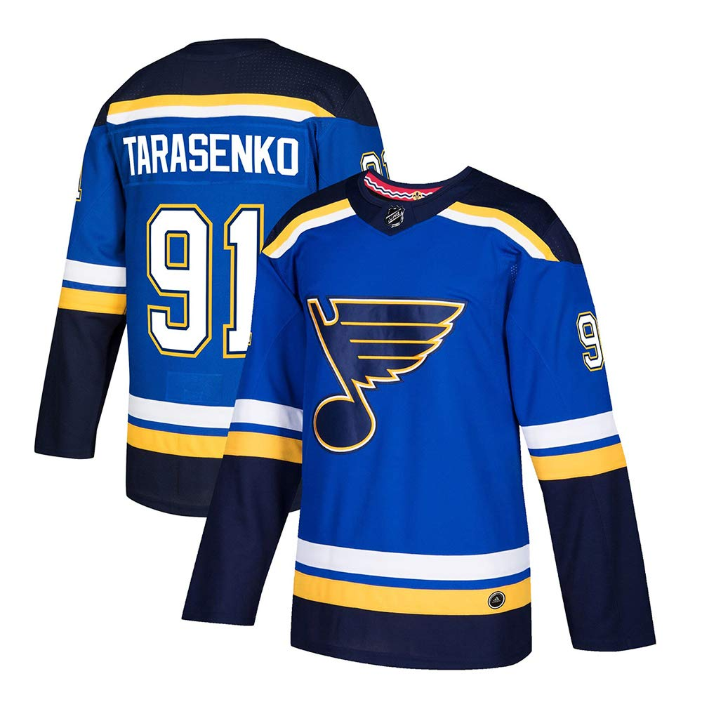 Forever Collectibles St.-Louis Blues Team Ice Hockey Jersey Custom Personalized Sports T-Shirt Embroidery Custom Any Names and Number for Unisex and Youth