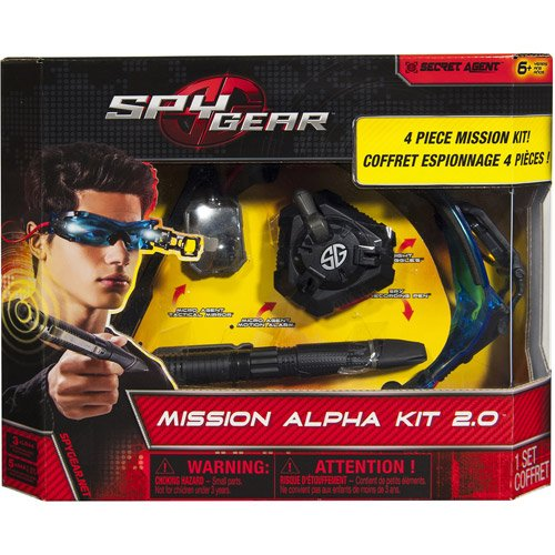 Spy Gear Mission Alpha Kit 2.0 Set