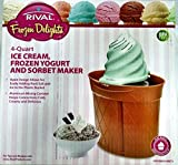 Cheap Rival 4 qt Twisty Ice Cream Maker by Rival