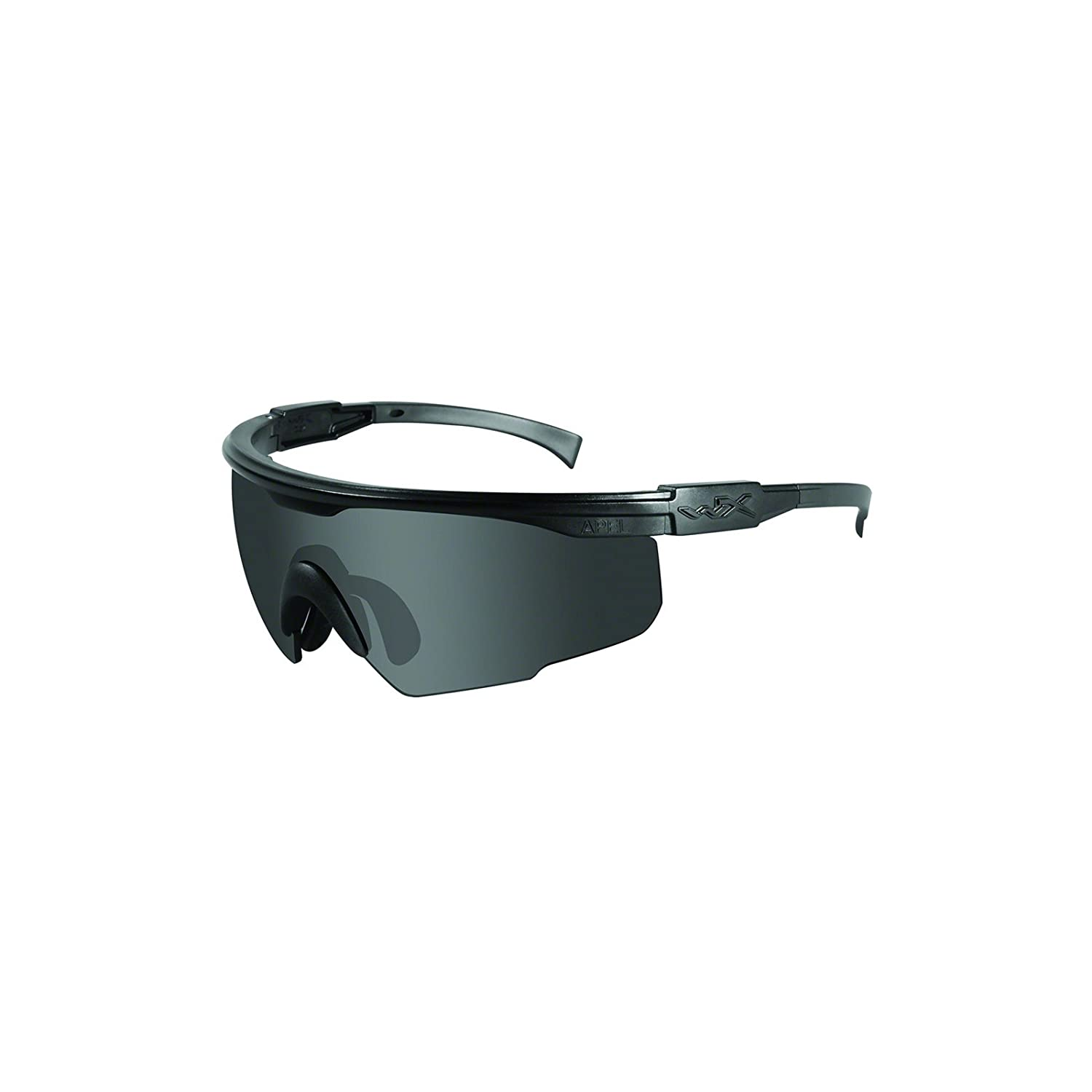 4689b3c241f Amazon.com  Wiley X PT-1 PT-1S Changeable Sunglasses Grey Lens   Matte  Black Frame  Sports   Outdoors