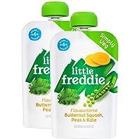Little Freddie Flavoursome Butternut, Peas & Kale, 100 g