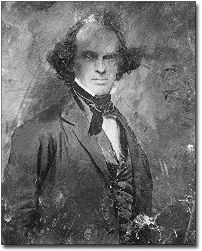 Nathaniel Hawthorne Daguerreotype Portrait 11x14 Silver Halide Photo Print