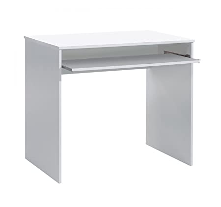 Aprodz Mango Wood Aires Study Desk Table for Home and Office | White Finish