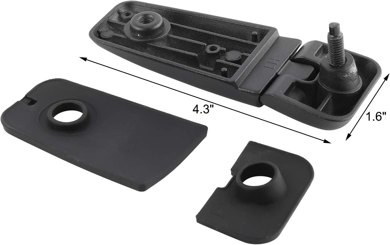 NovelBee Pair of Rear Tailgate Window Hinges Fit for 2005-2012 Nissan Pathfinder 90320-ZP40A 90321-ZP40A