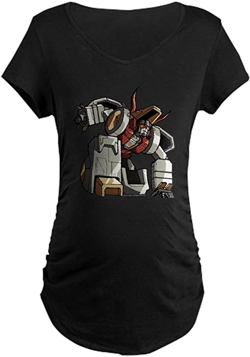 2c8d3bad1 CafePress Transformers Slag Maternity T-Shirt Cotton Maternity T-Shirt,  Side Ruched Scoop