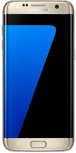 Samsung Sm G935fzdabtu Galaxy S7 Edge 32gb Gold Amazon Co Uk