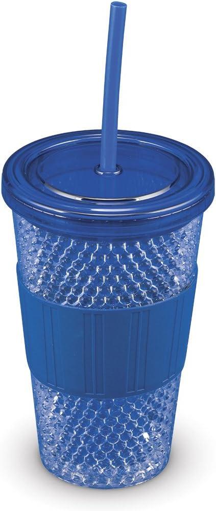 Blue Freeze Gel Double Wall Tumbler