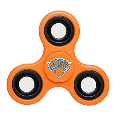 NBA Diztracto Fidget Spinnerz - 3 Way, New York Knicks, One Size: Sports & Outdoors