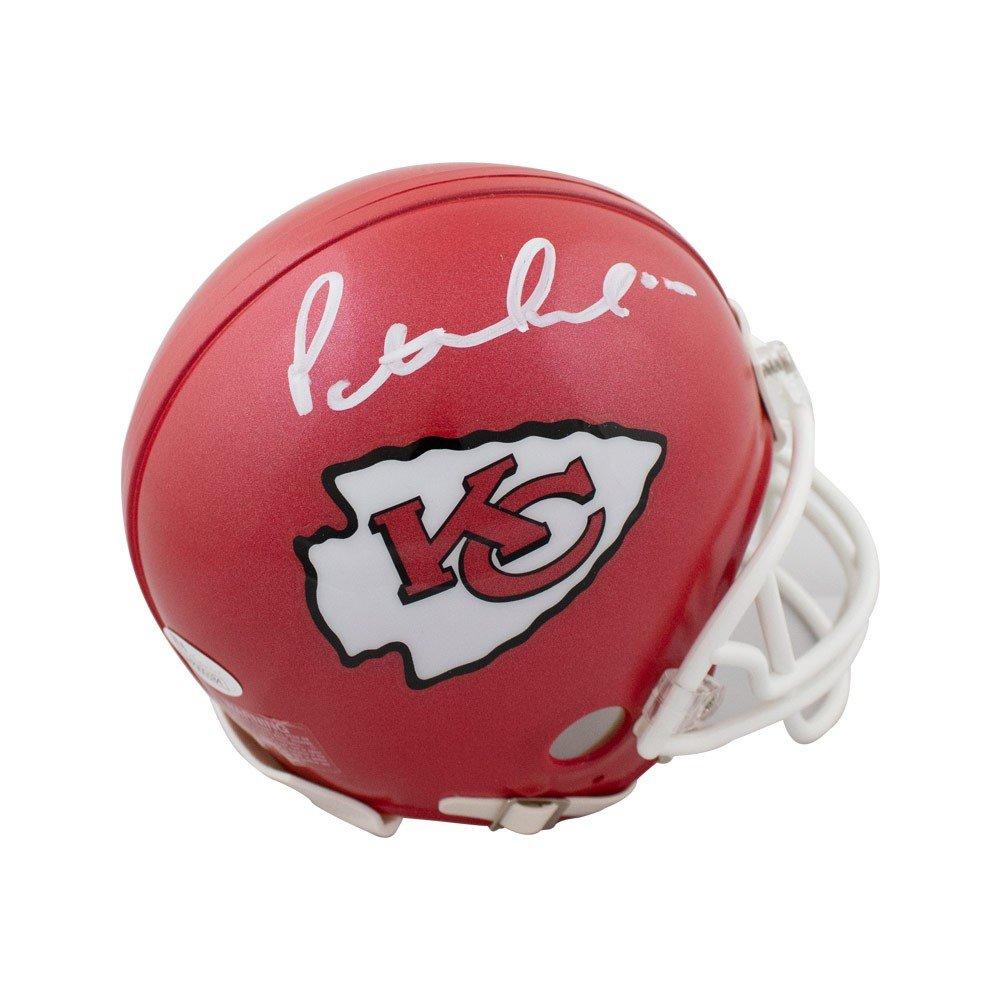 Patrick Mahomes Autographed Kansas City Chiefs Mini Football Helmet - JSA COA Riddell
