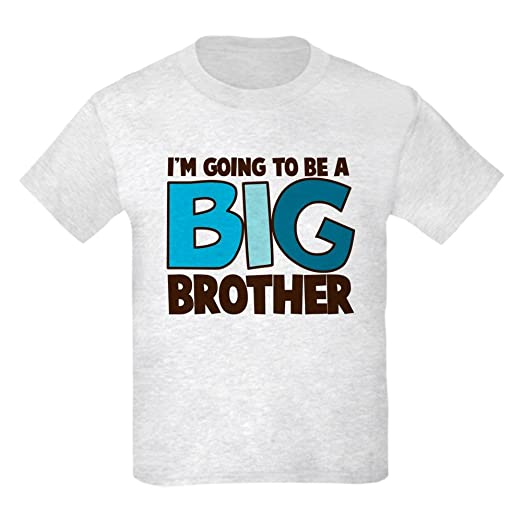 483a8af3 Amazon.com: CafePress I'm Going to Be A Big Brother T Shirt Kids T-Shirt:  Clothing