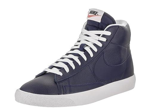 Blazer Nike Mid LeatherSneakerUomo Premium YWEH2D9I