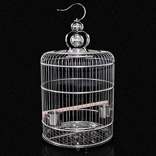 M Pet Online Stainless steel cages of large, medium-sized, watch the cage, M