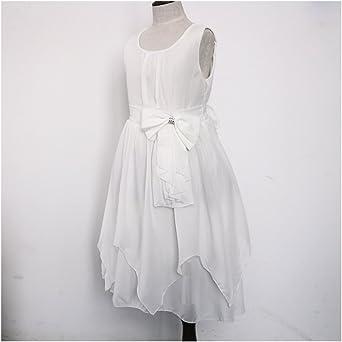 Vetements Robes Ankoee Robe De Mariee Fille Demoiselle Robe Bustier Soiree Floral Robe De Ceremonie Enfant Fille 3 8 Ans