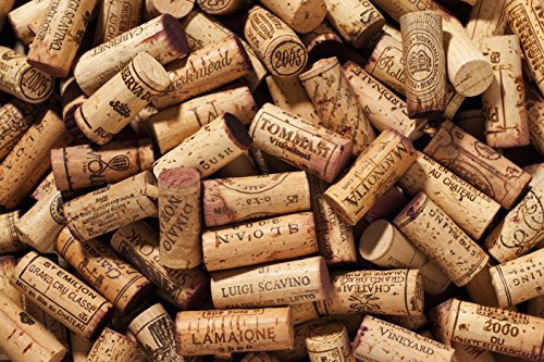Premium Recycled Corks, Natural Wine Corks From Around the World - 100 Count by Atharva