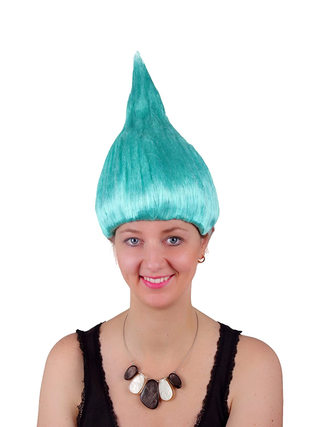 Poppy Trolls Wig Synthetic Hair Party Halloween Costume Cosplay Wig Women