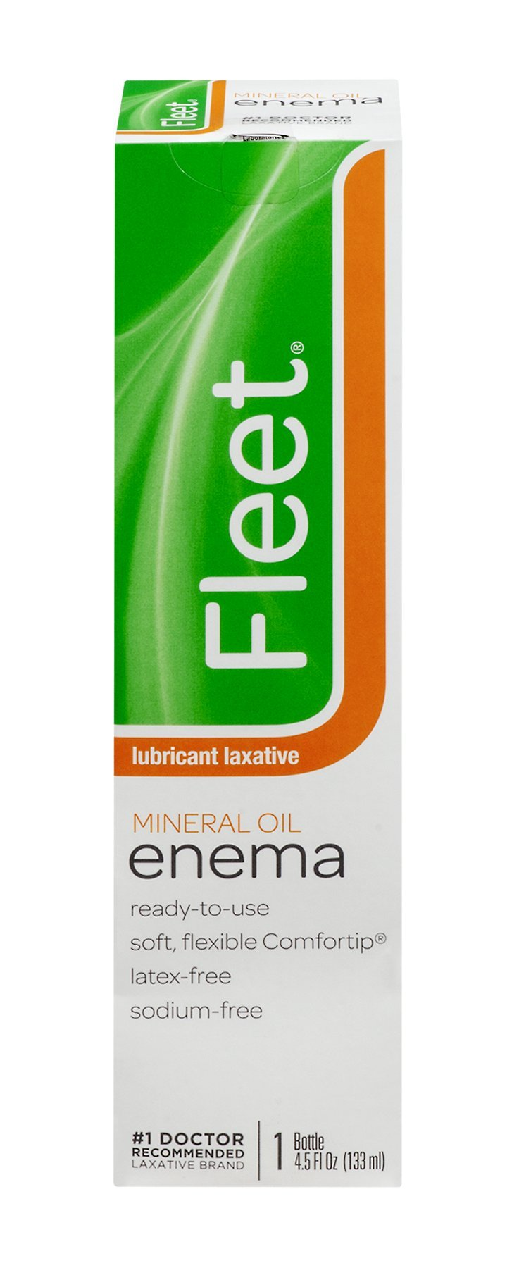 Fleet Lubricant Laxative Mineral Oil Enema | 4.5 oz | Pack of 48 | Fast Constipation Relief in Minutes by Fleet