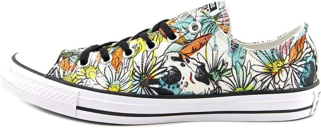 Converse Women's Chuck Taylor All Star Daisy Print Low Top Sneaker